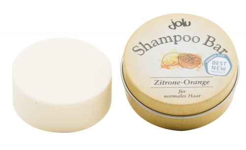 Shampoo Bar Lemon Orange Can